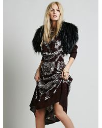 Free People Shes A Lady Printed Dress - Lyst