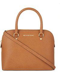 MICHAEL Michael Kors Cindy Medium Satchel Bag - For Women - Lyst