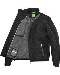 BOSS Green Outdoor Jacket Jucker Waterrepellent - Black
