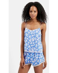 Topshop 'Rosie' Floral Pajama Set - Lyst