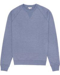 Reiss Cart Seam Detail Sweatshirt - Lyst