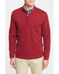 Cutter & Buck 'Fulltime' Supima Cotton Pullover - Lyst