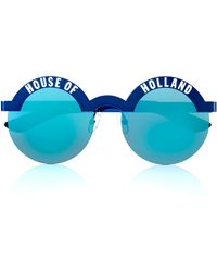 House Of Holland Brow Beater Blue - Lyst