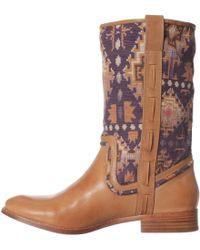 Ella Moss Renee Western Boot - Green