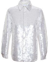 Ashish Sequinned Shirt - Lyst