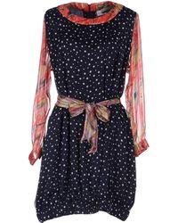 Duro Olowu Short Dress - Blue