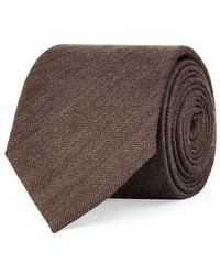 Eton of Sweden Herringbone Tie - Lyst