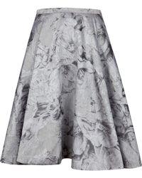Ted Baker Caju Floral Jacquard Skirt - Lyst