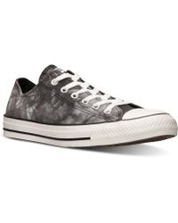 Converse Womens Chuck Taylor Ox Tie Dye Casual Sneakers From Finish Line - Lyst