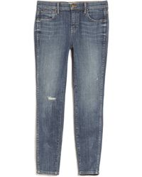 The Great Almost Skinny Jean blue - Lyst