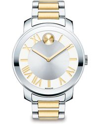 Movado Bold Luxe Two-Tone Stainless Steel Bracelet Watch/39Mm - Lyst