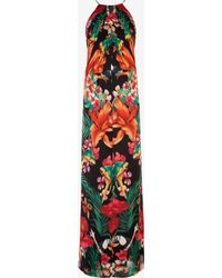 Ted Baker Tropical Toucan Maxi Dress - Lyst