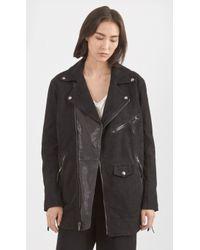 BLK DNM - Leather Coat 98 - Lyst