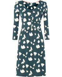 Dickins & Jones Butterfly Print Jersey Dress - Lyst