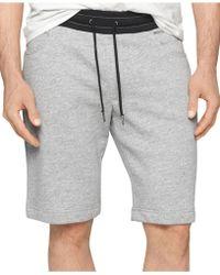 Calvin Klein Jeans Simplified Knit Shorts - Lyst