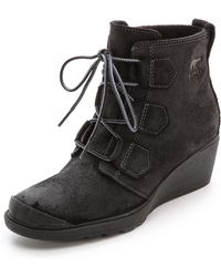 Sorel Toronto Lace Up Boots - Black - Lyst