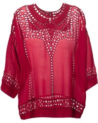 Isabel Marant Loose Top - Lyst