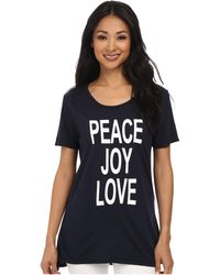 Cj By Cookie Johnson Basic High-Low Tee - Lyst