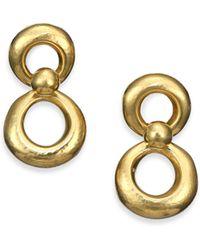 Vaubel Small Eight-Shape Drop Earrings - Lyst
