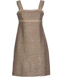 Nvl Short Dress - Lyst