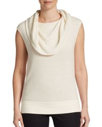 Elie Tahari Sandrina Cashmere Silk Sweater - Lyst