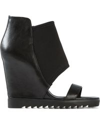 Ash 'Lucky' Boot Style Sandals - Lyst