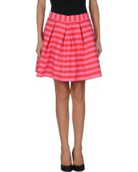P.A.R.O.S.H. Mini Skirt - Lyst