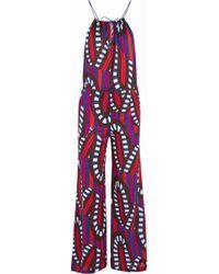 Eres - Farah Printed Cotton-jersey Jumpsuit - Lyst
