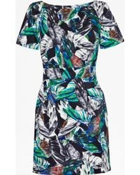 French connection Calliope Cotton Structured Dress - Lyst