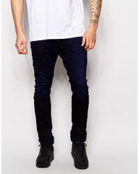 Diesel Jog Jeans Joggers 662B Krooley-Ne Cool Max Slim Fit Dark Wash - Lyst