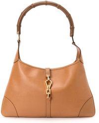 Gucci Brown Jackie Shoulder Bag - Lyst
