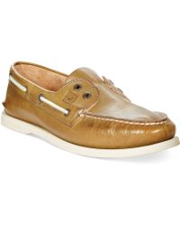 Sperry Top-sider Ao 2eye Slipon Boat Shoes - Lyst