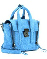 3.1 Phillip Lim Pashli Mini Suede Shoulder Bag - Lyst