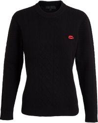 American Retro - Lips Pin Sweatshirt - Lyst
