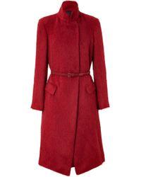 Donna Karan New York Alpaca-Silk Coat - Lyst
