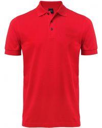 Boss Black Comfort Fit Ferrara Polo Shirt - Lyst