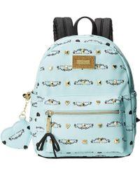 Betsey Johnson Studded Signature Mini Backpack - Lyst