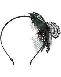 CA4LA 'Innocent Love' Headband - Black