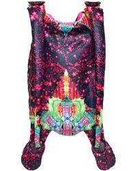 Manish Arora Gummy Stripes Padded Nylon Backpack - Lyst