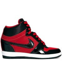 Nike Force Sky Hi Gym Red/Black