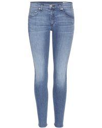 Rag & Bone   Capri Skinny Jeans   Lyst