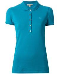 Burberry Brit Classic Polo Shirt - Blue