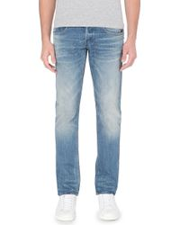 G-star Raw Faded Tapered Jeans - For Men - Lyst