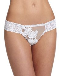 Hanky Panky Illusion Low-Rise Thong - Lyst