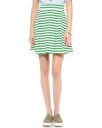 Petit Bateau Favorite Skirt Laitfeuille - Green