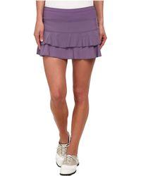 Lija Match Skort - Purple