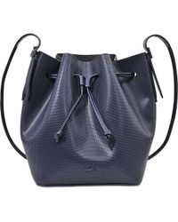 Lacoste Chantaco Bucket Bag - Purple