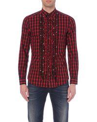 Diesel S-Multir Cotton Shirt - For Men - Lyst