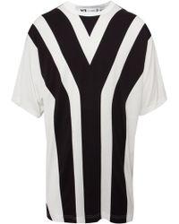 Y-3 Y Print Oversized T-Shirt  - Lyst