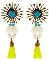 Isabel Marant Mild Star Tassel Drop Earrings - Lyst